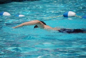 Swimming pool treatments help control staph infections.