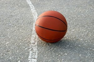 Use paint to make a basketball court in your driveway.