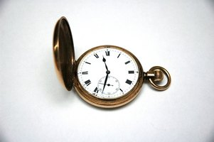 Other than decoration, pocket watches haven't changed much over the years.