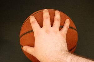 Palming a ball requires strong hands and fingertips.