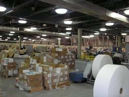 Typical warehousing operation