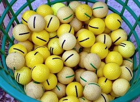 Learn how to sell used golf balls.
