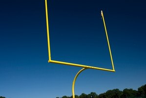 Build your own football goal post.
