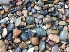 Colorful pebbles like these are a great decorative item for an indoor fountain waterfall.
