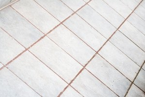 Sanded grout is porous and harbors stains and dirt.