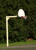 Install your own in-ground basketball hoop.