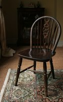 A rendition of the Windsor chair.