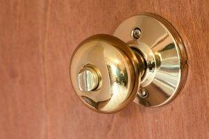 Replace door knob