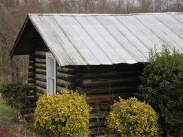 Hand-built cabins cost little more than time and concentration.
