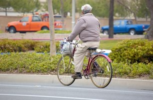 Biking provides fresh air and exercise.