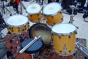 Musical instruments, such as drums, can be donated to youth groups.