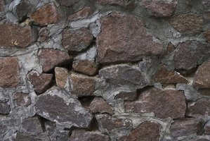 Insulating rock walls can help keep cold air from entering a home.