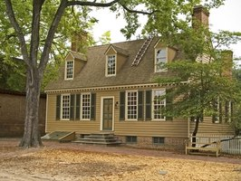Restoring a colonial home requires attention to details.