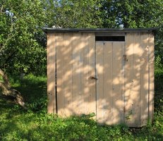 Sheds and posting materials can be purchased at your local hardware store.