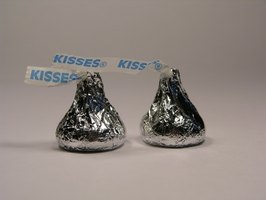 Hershey's Kisses are the perfect way to say thank you to a close group of volunteers.