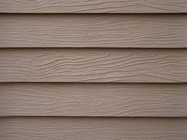 Hardboard siding can be repaired with a few items from the hardware store.