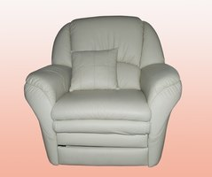 Clean Your White Leather Lounge Chair On A Regular Basis To Maintain A  Crisp, Clean