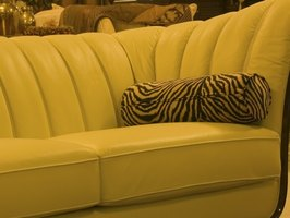 Microfiber furniture is not difficult to clean.