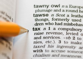 "A dictionary defintion of the word ""tax."""
