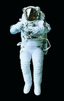 An astronaut may have the opportunity to take a stroll in space.