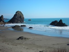 Oregon is home to scenic beaches and mountainous scenery.