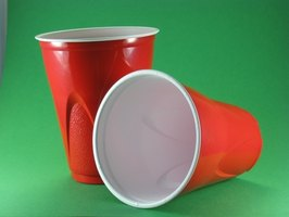 There are pros and cons to plastic and Styrofoam disposable cups.
