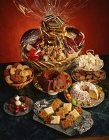 A basket of baked goods is an attractive silent auction treat.