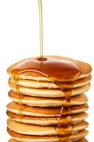 Pancakes are a classic breakfast choice.