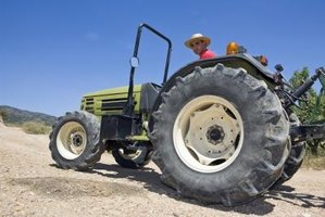 Small tractors are easier to store because of the smaller space they take up.