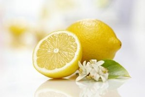 Lemon juice and salt can clean mildew stains.