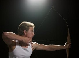 Right-handed archer with bow