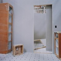 Drywall can be installed over rigid foam board insulation.