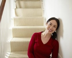 Enhance the durability and aesthetic value of your home's stairs with a covering.