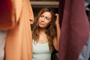 Wasted closet space can make you feel cramped.