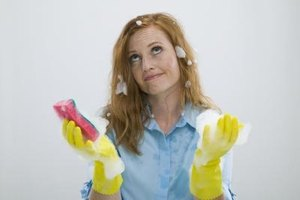 Rubber gloves are used around the house for more than just cleaning.
