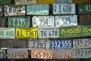Get the series of letters and numbers on your car's plate you've always wanted.