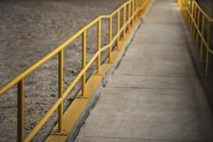 Residential ramps should follow ADA guidelines for accesibility and safety.