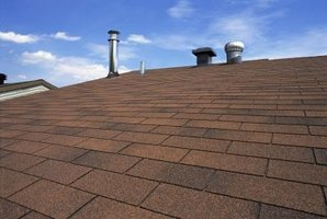Many brands of asphalt shingles are available.