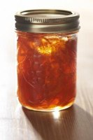 Screw-top lids for mason jars are available in either regular-mouth or wide-mouth sizes.
