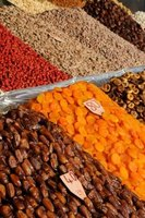Dried fruit is one of the main exports of Iran.