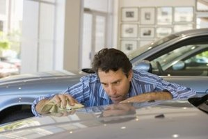 Removing sap from your vehicle's exterior will help protect the paint.