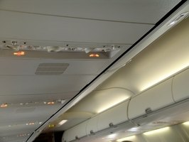 Make sure your carry-on baggage will fit in the overhead compartment of the airplane.