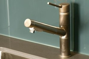 Single Handle Faucets Are Sealed By Washers That Keep Water From Leaking.