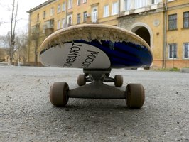 A chip on your skateboard left unfixed can result in more damage with later use.