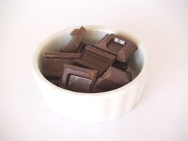 Cocoa powder can replace semisweet chocolate in a pinch.