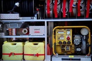 Regulations for using indoor generators include exhaust and fuel storage specifications.