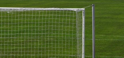 A regulation soccer goal is essential for official matches.