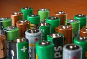 AA batteries can be adapted to take the place of C batteries.