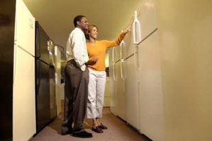 Refrigerators come in assorted styles to meet varying customer needs.