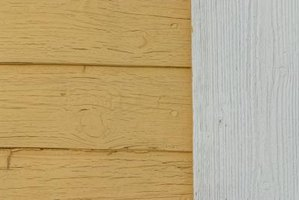 Maintain the paint on your exterior siding to prevent damage such as holes and cracks from developing.